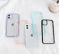 economico -telefono Custodia Per Apple Per retro iPhone 12 Pro Max 11 SE 2020 X XR XS Max 8 7 6 Transparente Glitterato TPU