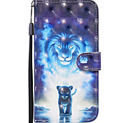 economico -telefono Custodia Per Nokia Integrale Custodia in pelle Custodia flip Nokia 1.3 Porta-carte di credito Con chiusura magnetica Fantasia / disegno Animali pelle sintetica