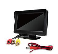 economico -Display da 4,3 pollici montato sul veicolo display desktop ad alta definizione a due vie con ingresso av inversione di priorità dell'immagine per i monitor di retrovisione dell'auto