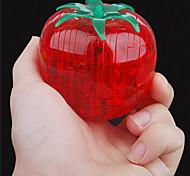 abordables -Tomate Puzzles 3D Puzzles en bois Puzzles en Cristal Maquettes de Bois ABS Enfant Adulte Jouet Cadeau