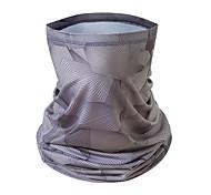 abordables -Soie Glacée Tour de cou Tube de cou Cagoule Masque de bandana Homme Femme Unisexe Coiffure Camouflage Couleur Pleine Mode Protection solaire UV Résistant à la poussière Manchon Anti UV pour Fitness
