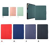 economico -telefono Custodia Per Apple Integrale iPad Mini 3/2/1 iPad Mini 4 iPad Mini 5 Con chiusura magnetica Auto sospendione / riattivazione Tinta unita pelle sintetica TPU
