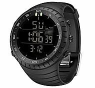 abordables -montres pour hommes, montre de sport en plein air militaire étanche hommes mode LED montre-bracelet électronique numérique noir