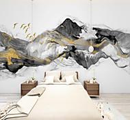 abordables -Art déco paysage décoration de la maison moderne revêtement mural fumée toile matériau adhésif nécessaire papier peint / mural / mur tissu chambre revêtement mural