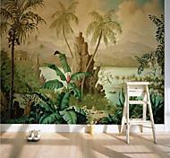 economico -carta da parati murale autoadesiva personalizzata art deco paesaggio nostalgico adatto per camera da letto soggiorno caffetteria ristorante hotel decorazione murale art