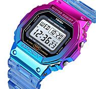 economico -Per donna Orologio digitale Digitale Digitale Moderno Sportivo Colorato Sveglia Calendario Cronografo / Un anno / Silicone