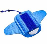 abordables -laveur de pieds | brosse pour les pieds | pierre ponce | soies nettoyées en profondeur& massage | exfolier& stimuler les pieds | brosse pour spa pour les pieds | chaîne gratuite& éponge en