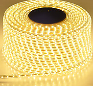 abordables -Bande led étanche ip65 ruban led 120leds / m guirlande lumineuse smd5630 lampe de jardin flexible à deux rangées de bandes led