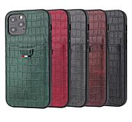 economico -telefono Custodia Per Apple Per retro Custodia in pelle iPhone 12 iPhone 12 Pro Max iPhone 12 Pro iPhone 12 Mini Porta-carte di credito Resistente agli urti Tinta unica pelle sintetica