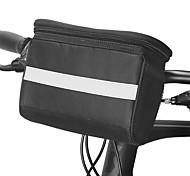 economico -ROSWHEEL 4.5 L Sacca da manubrio bici Antiumidità Indossabile Resistente agli urti Borsa da bici PVC Poliestere 600D Marsupio da bici Borsa da bici Samsung Galaxy S6 / iPhone 4/4S / LG G3 Ciclismo