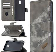 economico -telefono Custodia Per Nokia Integrale Custodia in pelle Nokia 1.3 Nokia 5.3 Porta-carte di credito A calamita Tinta unica pelle sintetica