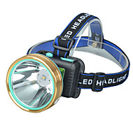 abordables -Lampes Frontales Phare Avant de Moto LED 1 Émetteurs 4.0 Mode d'Eclairage avec Piles et Câble USB Ajustable LED Haute puissance Camping / Randonnée / Spéléologie Usage quotidien Cyclisme Extérieur USB