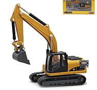 abordables -1h50 Caoutchouc Métal ABS Excavateur Véhicule de construction de camion jouet Drôle Pelleteuse pour le développement intellectuel pour le développement des intérêts Garçon Fille Enfant Jouets de