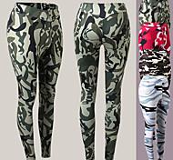 economico -YUERLIAN Per donna Vita alta Pantaloni Pantaloni a compressione Sportivo Livello Base Pantaloni Elastene Inverno Fitness Allenamento in palestra Esibizione Corsa Addestramento Fasciante in vita