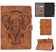 economico -telefono Custodia Per Amazon Integrale Amazon HD8 (2016) Amazon HD8 (2017) Porta-carte di credito Resistente agli urti Con chiusura magnetica Animali pelle sintetica TPU
