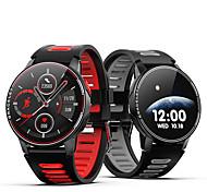 abordables -L6 Smartwatch Montre Connectée pour Android iOS Samsung Apple Xiaomi Bluetooth 1.3 pouce Taille de l'écran IP68 Niveau imperméable Imperméable Ecran Tactile Moniteur de Fréquence Cardiaque Mesure de