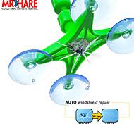 abordables -kit de réparation de pare-brise réparation rapide voiture verre fissuré pare-brise kit d'outils de réparation de résine scellant bricolage auto vitre écran polissage
