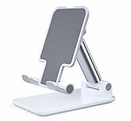 abordables -Accroche Support Téléphone Bureau iPad Téléphone Portable Tablette Support Ajustable Support de bureau pour téléphone Ajustable Silicone Métal Accessoire de Téléphone iPhone 12 11 Pro Xs Xs Max Xr X