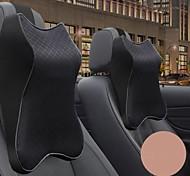 abordables -oreiller de cou de voiture 3d mousse à mémoire appui-tête réglable automatique appui-tête oreiller voyage coussin de cou support support oreiller de siège