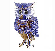 abordables -Puzzles 3D Maquette en Papier Kit de Maquette Oiseau Aigle Chouette Animaux A Faire Soi-Même Simulation Papier cartonné Classique Enfant Unisexe Garçon Jouet Cadeau