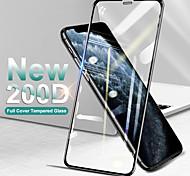 abordables -Verre de protection incurvé à couverture complète sur le pour iphone se 11 pro max x xs protecteur d'écran trempé iphone xr 8 7 plus verre