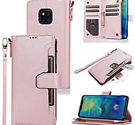 economico -telefono Custodia Per Huawei Integrale Custodia in pelle Custodia flip HUAWEI P40 Huawei P20 Huawei P20 Pro Huawei P20 lite Huawei P30 Huawei P30 Pro Huawei P30 Lite Huawei Mate 20 lite Huawei Mate