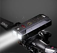 abordables -LED Eclairage de Velo Eclairage de Vélo Avant LED Vélo Cyclisme Rotatif Sortie de charge USB Batterie Lithium-ion Rechargeable 1600 lm Batterie rechargeable Blanc Cyclisme / Rotation 360° / IPX 6