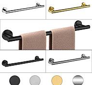 economico -portasciugamani mensola bagno in acciaio inox asta singola montaggio a parete nuovo design 1 pz 30/40/45/50/60 cm
