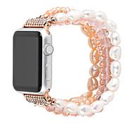 abordables -1 pièces Bracelet de Montre  pour Apple  iWatch Conception de bijoux Céramique Sangle de Poignet pour Apple Watch Series SE / 6/5/4/3/2/1