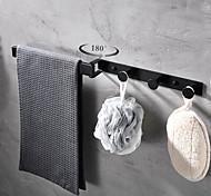abordables -Barre porte-serviette / Crochet à Peignoir / Etagère de Salle de Bain Nouveau design / Créatif / Multifonction contemporain / Moderne Acier inoxydable / Acier à basse teneur en carbone / Métal 1 pc -