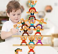 abordables -Puzzles 3D Ours Transformable Animaux Mignon En bois 1 pcs Enfants Adolescent Tous Garçons et filles Jouet Cadeau / Nouveau design / Interaction parent-enfant
