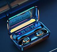 economico -iMosi F9-10 Auricolari wireless Cuffie TWS Bluetooth5.0 Stereo Dotato di microfono Con il controllo del volume per Apple Samsung Huawei Xiaomi MI Cellulare