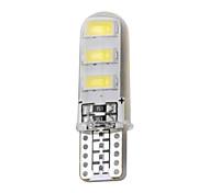 abordables -1 pc T10 6 SMD 5730 LED Lampe De Lecture De Voiture Plaque D'immatriculation Ampoule Cale Lumière Auto Parking Lampe 5630 SMD 12V DC