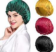 economico -cuffia multifunzione con stampa setosa cuffia per dormire in raso ampia fascia elastica per le donne capelli lunghi naturali ricci 1 pz