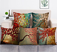abordables -1 lot de 5 pièces housses de coussin décoratif moderne taie d'oreiller décoratif taie de coussin pour chambre chambre canapé chaise voiture