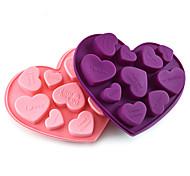 economico -stampi in silicone a forma di cuore amore per caramelle fai da te stampo per cioccolato fondente strumenti per decorare torte da cucina