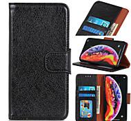 economico -telefono Custodia Per LG Integrale LG Q7 K50S V60 ThinQ 5G LG K61 LG K51 Stilo 6 K41S K51S Porta-carte di credito Con chiusura magnetica Tinta unita pelle sintetica