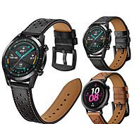 abordables -Bracelet de montre connectée pour Huawei 1 pcs Boucle Classique Bande d'affaires Cuir PU Remplacement Sangle de Poignet pour Honneur à la magie Huawei Watch GT Active Montre Huawei GT2 46mm Montre