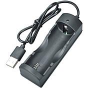 abordables -Chargeur de batterie pour 18650 26650 Chargement Rapide ABS