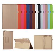 economico -telefono Custodia Per Apple Integrale iPad Mini 3/2/1 iPad Mini 4 iPad Mini 5 Con supporto Con chiusura magnetica Tinta unita pelle sintetica TPU