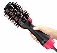 abordables -brosse à air chaud, brosse pour sèche-cheveux, sèche-cheveux en une étape& Volumizer, brosse de sèche-cheveux 3 en 1 avec frisottis lisse et technologie ionique - sèche-cheveux en une étape&
