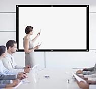 economico -Tenda morbida in tela 4: 3 con schermo per proiettore pieghevole hd da 100 pollici per proiettore per home theater da esterno