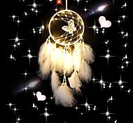 economico -boho acchiappasogni regalo fatto a mano appeso a parete arredamento arte ornamento artigianato piuma perlina farfalla 60 * 16 cm per bambini camera da letto festival di nozze