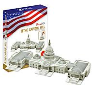 abordables -Puzzles 3D Maquette en Papier Kit de Maquette Bâtiment Célèbre Eglise A Faire Soi-Même Papier cartonné Classique Enfant Unisexe Garçon Jouet Cadeau