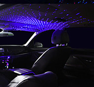 abordables -1 pcs LED Toit De Voiture Star Night Light Projecteur Atmosphère Galaxy Lampe USB Lampe Décorative Réglable Plusieurs Effets D'éclairage