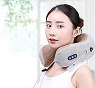 abordables -Masseur de la colonne cervicale pétrissage multifonctionnel chauffage vibration électrique charge portable maison oreiller de massage en forme de u protège-cou