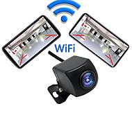 economico -telecamera di backup wireless wifi per iphone e android segnale ultra forte immagine video liscia non si congela mai immagine chiara adatta per auto pickup suv mpv facili da installare