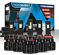 abordables -novsight ampoules de voiture à LED 2 pièces a397-f06 h4-h7-h11-9005 (hb3) -9006 100w phares à LED pour moteurs généraux universels toutes les années avec vidéo de configuration