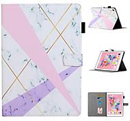 abordables -téléphone Coque Pour Apple Coque Intégrale iPad Mini 3/2/1 iPad Mini 4 iPad Mini 5 Porte Carte Avec Support Motif Arbre Fleur Animal faux cuir