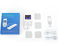 abordables -Appareil de massage méridien multifonctionnel Appareil de physiothérapie numérique pour adultes Masseur d'impulsions à basse fréquence neuf modes de massage guide vocal